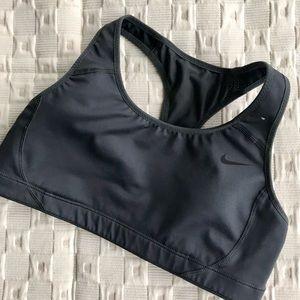 Nike Dry fit gray workout bra.